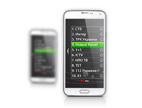 Trinity TV на Android телефоне